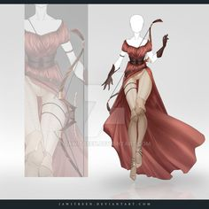 (OPEN) Adoptable Outfit Auction 259 by JawitReen.deviantart.com on @DeviantArt