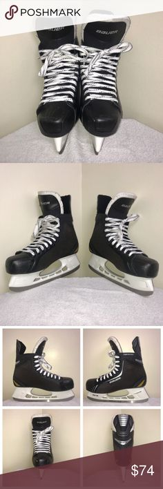 Bauer Supreme One.4 Tuuk Lightspeed Hockey Skates ALL OFFERS CONSIDERED!!   For sale is a pair of Bauer Supreme One.4 hockey skates in size 11 US. Overall good condition with a few scuffs on the black toe. No other defects and these were lightly used. Initials GA written on the bottom heel (see photo). Bauer Shoes
