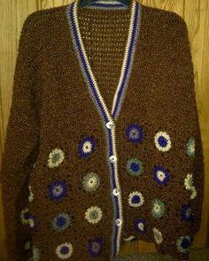 Crochet Cardigan - Handmade - SIZE UK 18-20 - pinned by pin4etsy.com