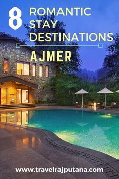 Here is the guide to dream destinations to stay in #Ajmer & #Pushkar for couples. Travel Rajputana provides you the list of all top romantic hotels to enjoy a quality time with your beloved.