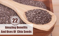 22 Amazing Benefits And Uses Of Chia Seeds