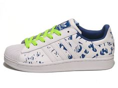 04220ae9977460 Adidas Originals Superstar II Fantasy White  Blue G16552 Unisex Mens Womans shoes  Adidas Originals