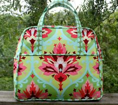 "I really love this bag!  It was fun to make.  It was kind of like birthing a baby.  Now that the ""birth..."