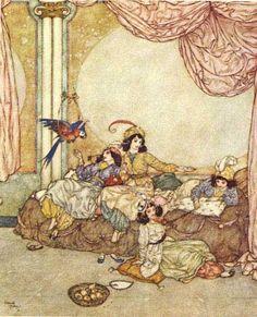 Encantamentos Literários: Barba Azul - Edmund Dulac