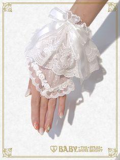 BTSSB Dot tulle gloves