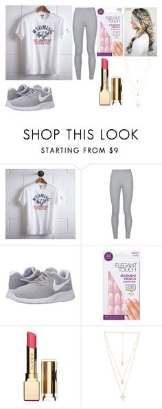 """""""My outfit"""" by outfitmaker-cm on Polyvore featuring Tailgate, NIKE, Clarins and Natalie B"""