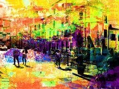 La Piazza by Gabi Hampe