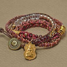 Free Wrap Bracelet Project Tutorial | 5 Stitch | Beadshop.com