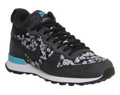 Nike Nike Internationalist Mid Liberty Dark Ash Silver Wing - His trainers  Sneakers Nike 57f4b612d