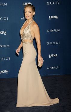 Kate Hudson, in Gucci, at the LACMA 2013 Art + Film Gala on November 2, 2013 in Los Angeles, California.
