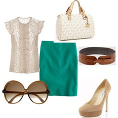 Work style- not a big fan of the purse but love everything else