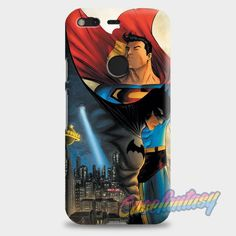 Batman Vs Superman Comic Google Pixel XL Case | casefantasy