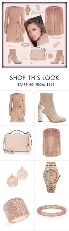 """Chic dream"" by zabead ❤ liked on Polyvore featuring Zimmermann, Alexandre Birman, Mark Cross, Pinko, Bronzallure, Audemars Piguet and Anne Sisteron"