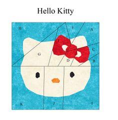 Hello Kitty Paper Piecing http://liljabs.files.wordpress.com/2011/12/hello-kitty.pdf