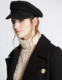 Captains Hat  ilymix  womensfashion Header 50406d10968