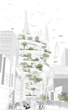 Sou Fujimoto Architects Tokyo, Japan ENERGY FOREST Courtesy Sou Fujimoto Architects