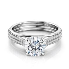 ♥ Capri Jewelers Arizona ~ www.caprijewelersaz.com  ♥ Danhov Unito Engagement Ring. Style UE105.