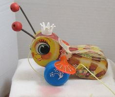 Fisher Price Vintage Wooden Collectible Busy Bee by myabbiesattic, $10.99