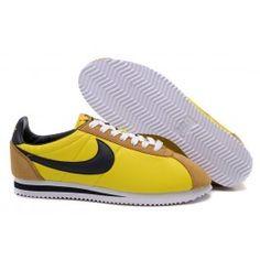 Køligt Nike Cortez V1 Gul Sort Unisex Skobutik | Fantastisk Nike Cortez V1 Skobutik | Nike Skobutik Billige | denmarksko.com