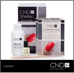 """#CNDFanTalk: """"Friends don't let friends pick at their CND® SHELLAC®"""" Click here for more information about the CND® OFFLY FAST™ 8 Minute Removal & Care Kit on our website at http://bit.ly/1Ag5j2c!"""