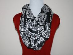 Westworld, Maze Extra Long Infinity scarf by SassySkirtsForGals on Etsy