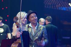 Ellen Cameron, Cello & Lou Bega
