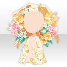 (Body Accessories) Flower Garden Flowers Parasol and Stole ver.A yellow.jpg