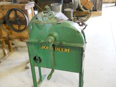 John Deere was not only into tractors.     https://www.youtube.com/user/Viewwithme