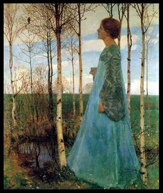 Heinrich Vogeler (December 12, 1872 – 1942) was a German painter, designer, and architect.