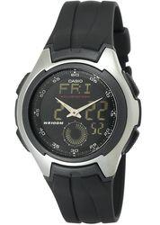 Casio Men's Ana-Digi Electro-Luminescent Sport Watch(AQ160W-1BV )