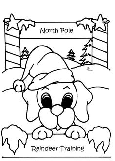 The Kids Will Love These Printable Christmas Coloring Pages