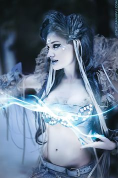"""Grid (""""peace"""") was the friendly Norse Frost Giantess who warned Thor of Geirrod's treachery. Thor was going to the home of Geirrod, unarmed, since Loki had persuaded Thor to leave the Mjollnir at home. Grid gave Thor her magic staff (Grídarvöl), as well as her own pair of iron gloves (Járngreipr) and her girdle of might (Megingjord). Thor used Grid's gifts to defeat and kill Geirrod and her evil daughters. Grid was the mother of Vidar by Odin.☽0☾"""