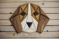 I make wooden puppies - wall decorations