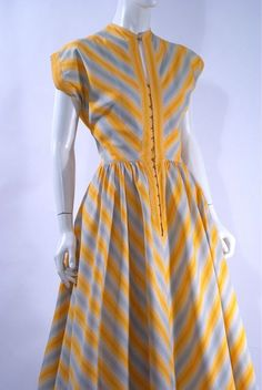 Claire McCardell dress, 1951.