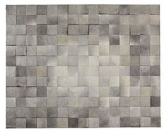 Neat rug. But it probably wouldn't wear well? Pure Park Cowhide Rugs - Natural Hide Rugs - Room & Board