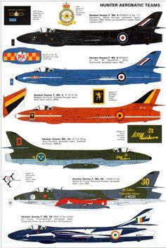 Hawker Hunter Aerobatic Teams