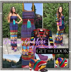 Sandra Bauknecht: Mary Katrantzou has referenced her heritage for the first time for her S/S 2017 collection and I definitely couldn't resist this «Hemera Pottery Patterns, Grecian Goddess, Mary Katrantzou, Get The Look, First Time, Yves Saint Laurent, Strapless Dress, Jonathan Adler, Loewe