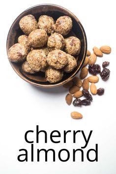 energy balls cherry almond| #healthysnack | #almond |#cherry | #energyballs | #energybites | #blissbites | #glutenfree | |#vegetarian | #snack | #nobake | #lowsugar