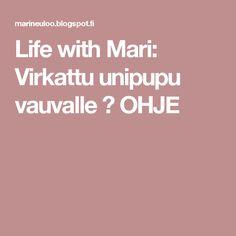Life with Mari: Virkattu unipupu vauvalle ♥ OHJE