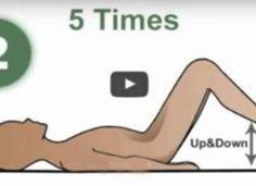De beste Oefening dat slechts Een Minuut duurt en rugpijn Verdwijnt bij een toverslag! (Video)