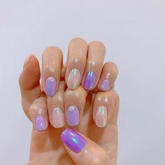 Sun Nails, Hair And Nails, Aurora Nails, Korean Nail Art, Uñas Fashion, Classic Nails, Cute Nail Art Designs, Kawaii Nails, Cute Acrylic Nails