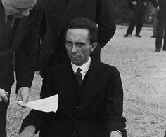 Nazi propaganda minister Joseph Goebbels was cheerful and without a care when he first met photographer Alfed Eisenstaedt. In a close-up image the Third Reich politician was caught off guard smilin…