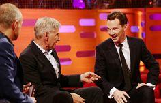 Benedict Cumberbatch, Harrison Ford and Jack Whitehall on Graham Norton: 10 amazing pics | Radio Times