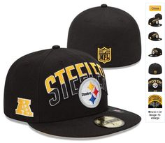 e31927513ec Cheap Wholesale NFL Draft 59FIFTY Fitted Pittsburgh Steelers Hats 6987 for  slae at US 8.90