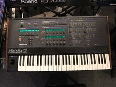 MATRIXSYNTH: Vintage Oberheim Matrix-12 Analog Synthesizer SN P...