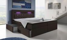 Łóżka kontynentalne Milos: 4 rozmiary