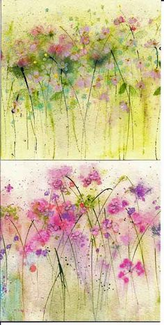 love these...looks like a dance #watercolor jd