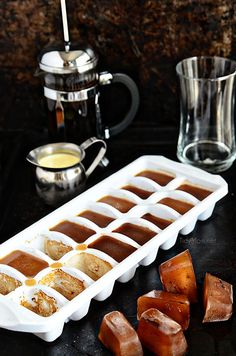 Coffee Ice Cubes are the secret to good iced coffee!