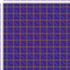 draft image: Karierte Muster Pl. XII Nr. 4, Die färbige Gewebemusterung, Franz Donat, 2S, 2T