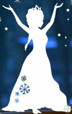Christmas Art Projects, Christmas Crafts, Xmas, Glass Painting Designs, Paint Designs, Diy And Crafts, Paper Crafts, Disney Princess Party, Silhouette Images